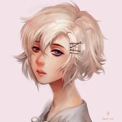 Violet by Ariuemi