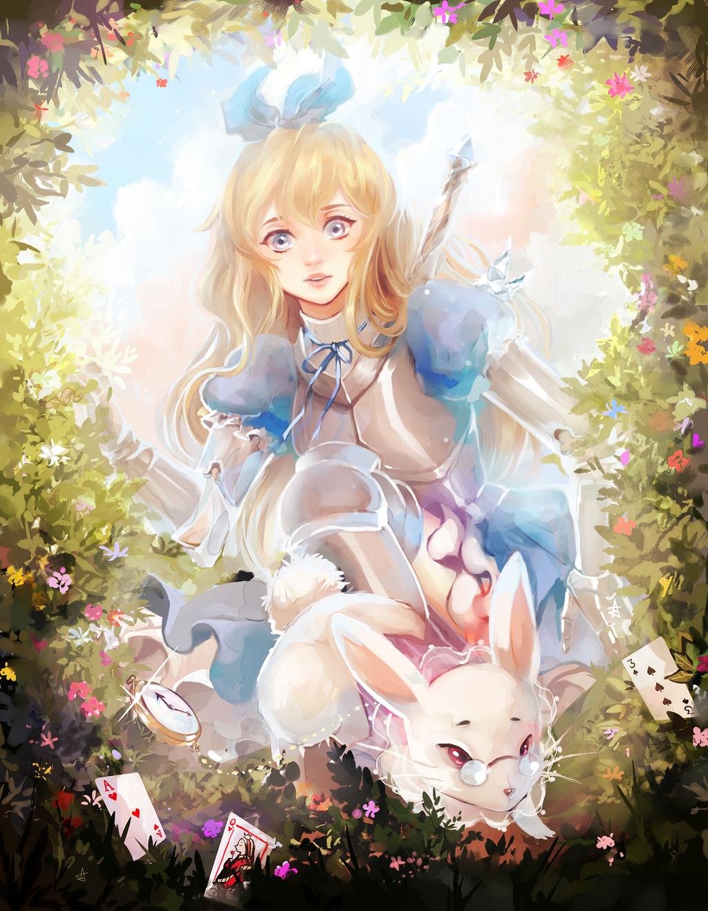 Rewritten Artbook - Alice by Ariuemi