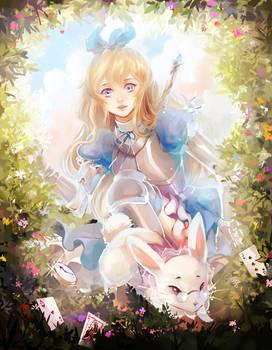 Rewritten Artbook - Alice
