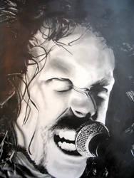 James Hetfield of Metallica by Vox16