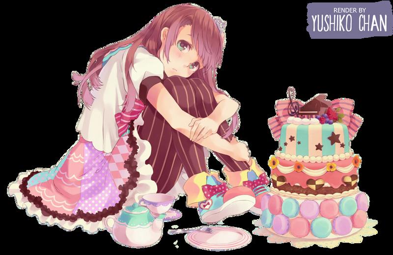 Anime Loli Cake