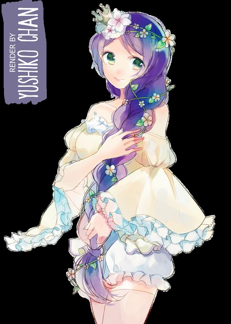 Toujou Nozomi [RENDER] by Yushiko-chan