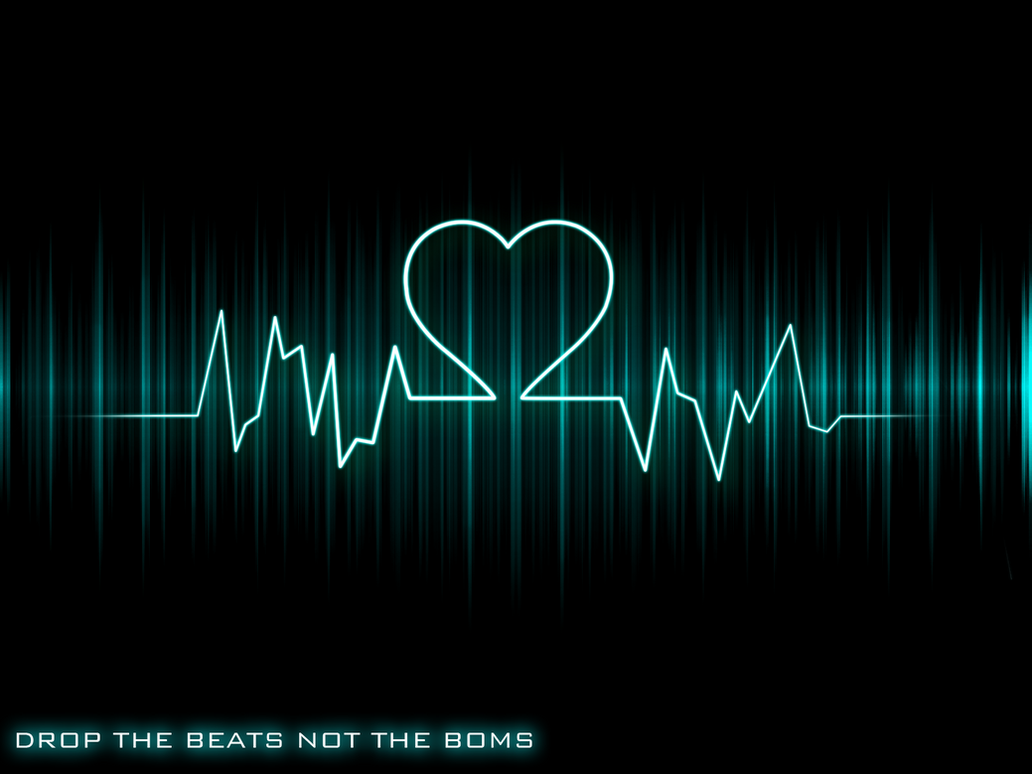 Wallpaper i love music by funnyfoxnl17 on deviantart for House music beats