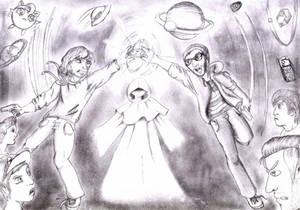 SPACE FROGS - Fanart: Die Kekssaga