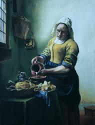 Lechera de Vermeer