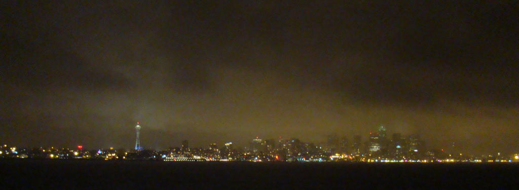 Bainbridge Island Rainy Seattle wallpaper