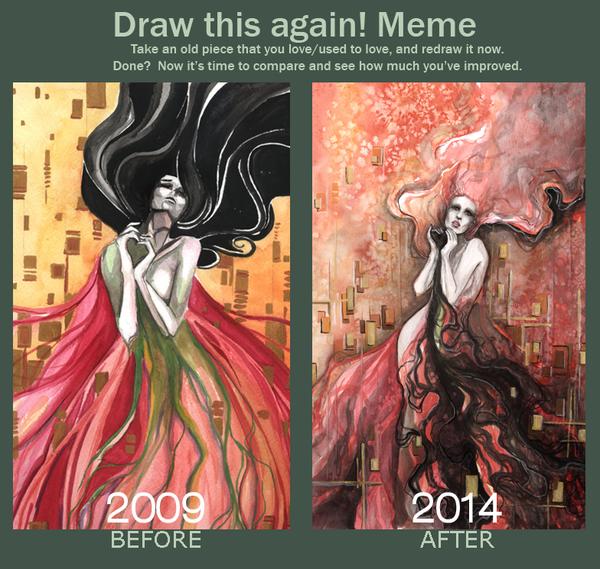 Draw this again meme by Lp-dream
