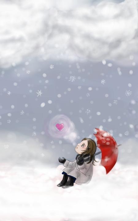 Winter doodle by Lp-dream