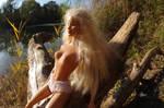 a lil' bit prude...sunbathing Lolita by Pippa-pppx
