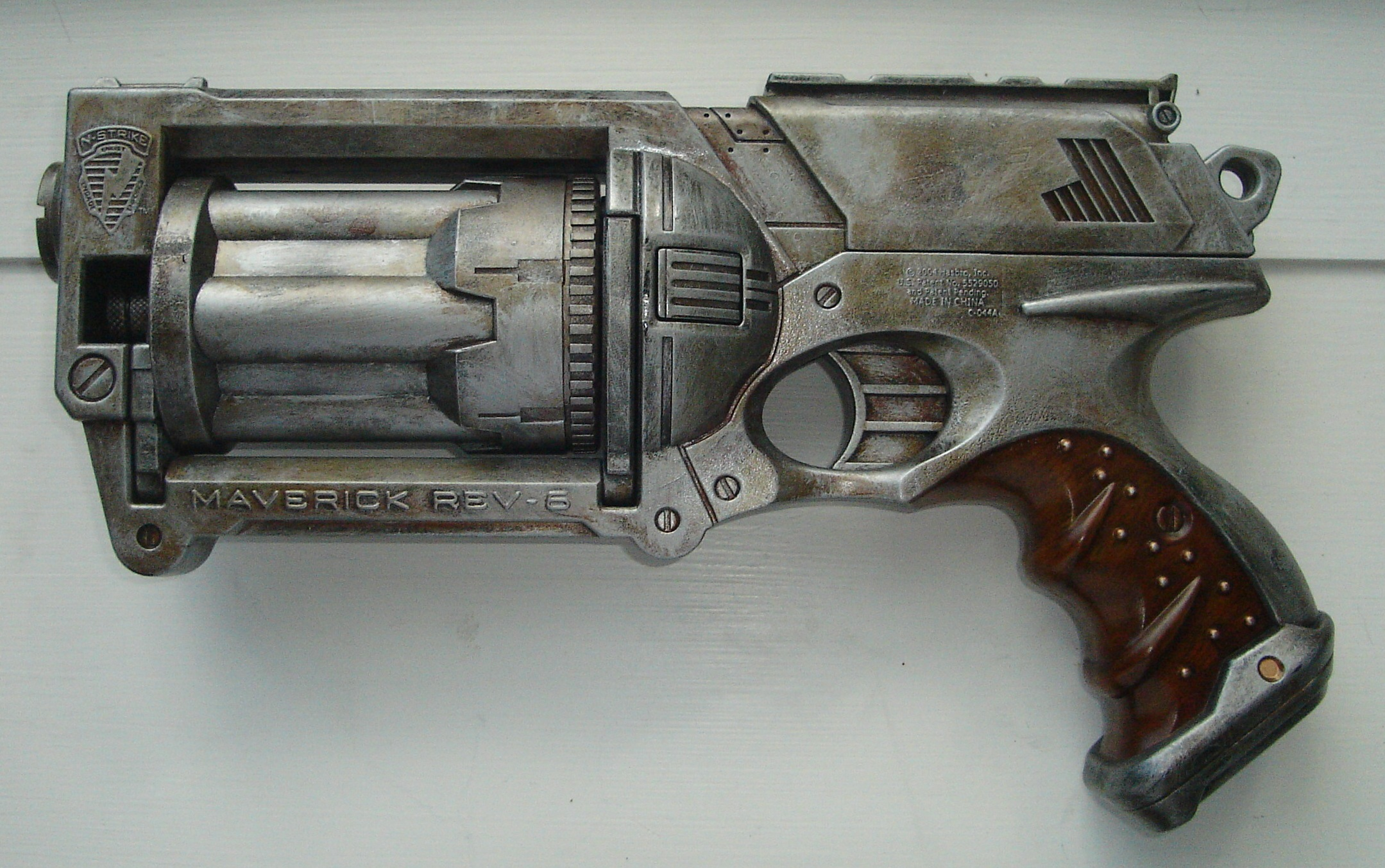 Custom Painted Nerf Gun Great For Cosplay, Dieselpunk, Steampunk Comicon