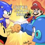 Super Smash Bros Classic Mascots