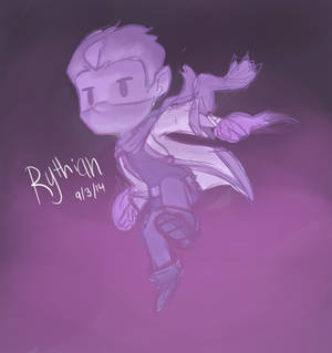 Sketchy Purple action Rythian