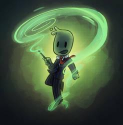 Magic Smiffy by CrystalBluePuppy