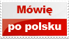 Stamp: I speak Polish by AtreJane