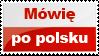 Stamp: I speak Polish by AtreJane