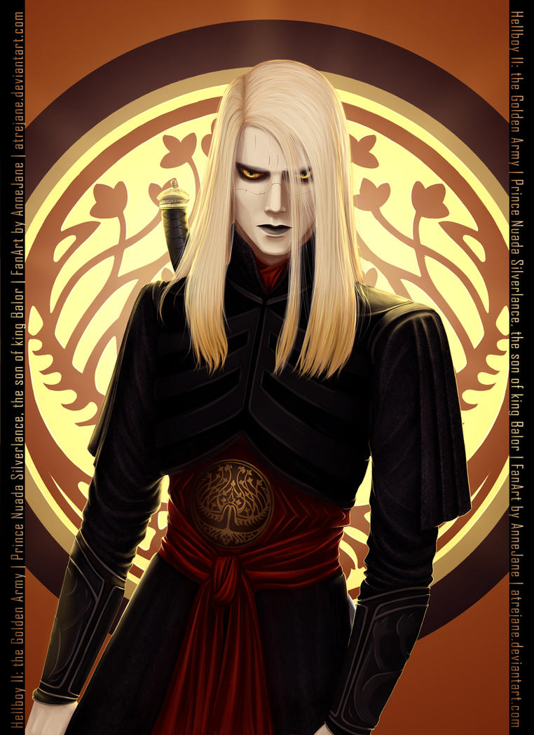 Prince Nuada from Hellboy II by AtreJane on DeviantArt Hellboy 2 Prince Nuada
