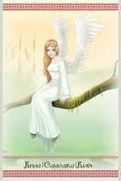 Ukrainian Mythology: Wilia, the spirit of the air by AtreJane