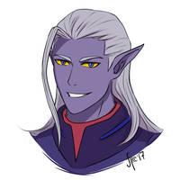 Voltron prince Lotor by AtreJane