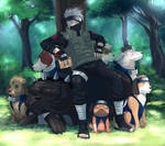 NARUTO: Master of the puppies
