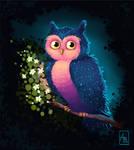 Owl by AtreJane