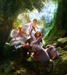 Sacrificion of Isaac by esstera