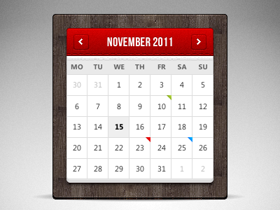 Website Calendar Template. 20 beautiful events production website ...