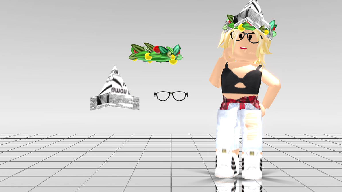 Holiday Crown Roblox Mmd Roblox Hat Kit Dl By Ona2000 On Deviantart