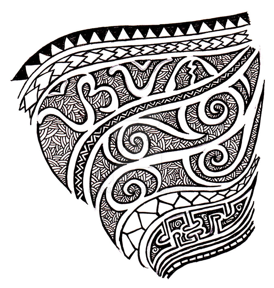 Filipino tribal tattoo concept by vans3n on deviantart for Filipino tribal tattoos and meanings