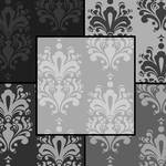 { seamless textures: damask greyscale pack } by MaliceStryker