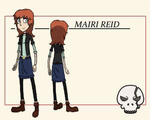 Mairi Reid - Character Sheet 1/3