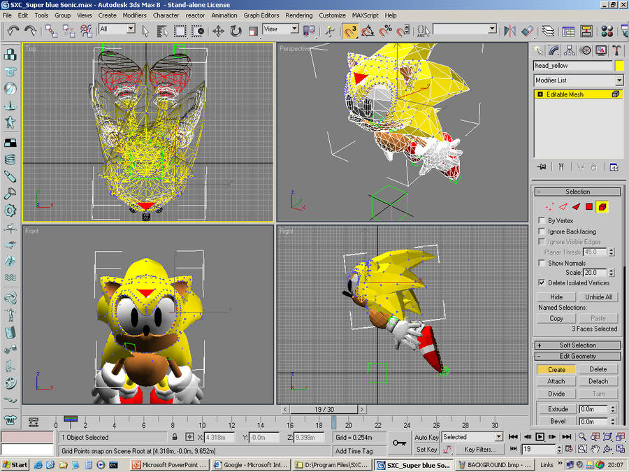 Super Sonic Possibility!! [change animation sugguestion