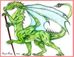 Dragontaur by Tigeress08