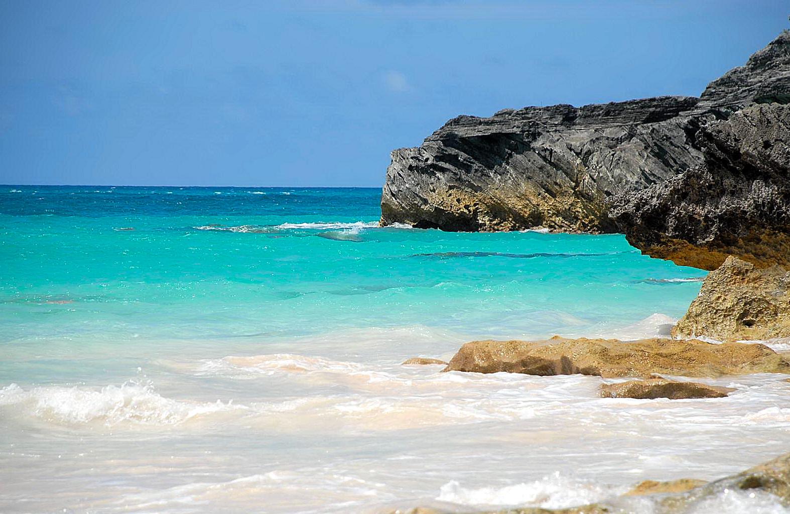 Sand Beach Sky by misterkyle