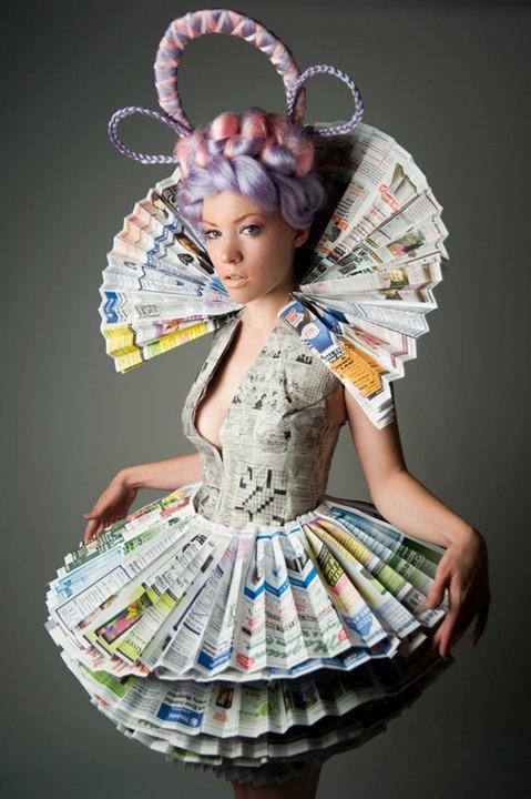 Как сделать своими руками платья из бумаги