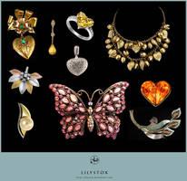Jewelry Set II by LilyStox
