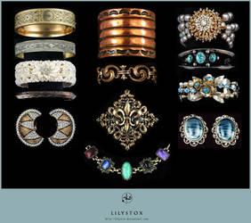 Jewelry Set I by LilyStox