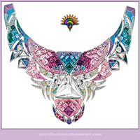 Gems Collier Necklace by LilyStox