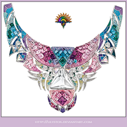 Gems Collier Necklace