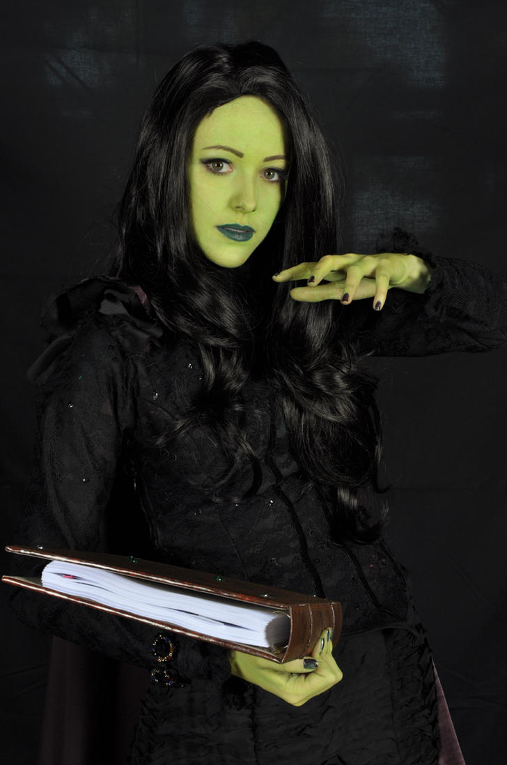 Wicked- Elphaba by InhumanSandwiches