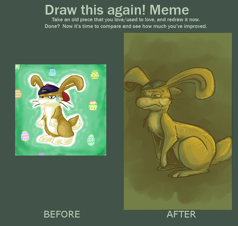 Draw this again meme by CrazyRatty