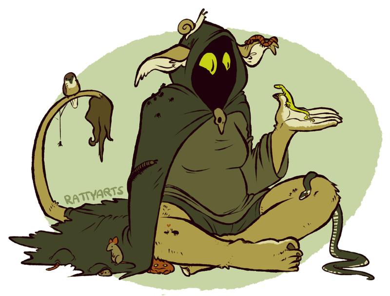 My witchsona by CrazyRatty