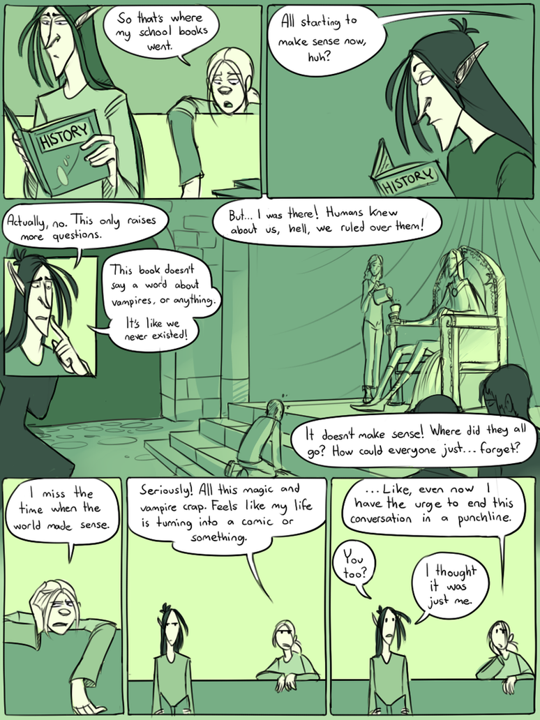 My Pet Vampire: History by CrazyRatty