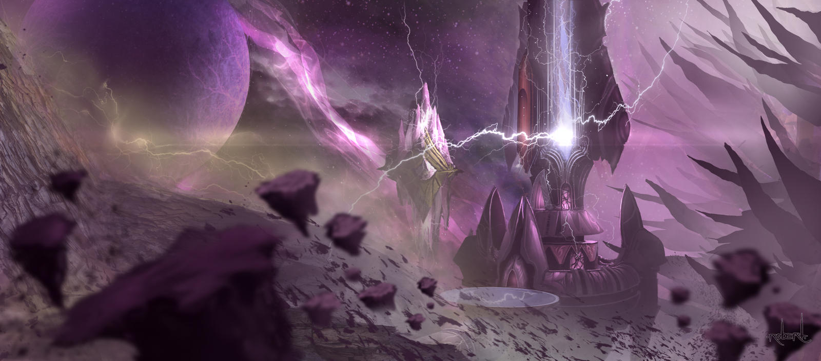 Netherstorm (World of Warcraft). by d1eselx