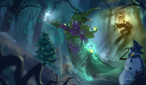 An Emerald Christmas (World of Warcraft) by d1eselx
