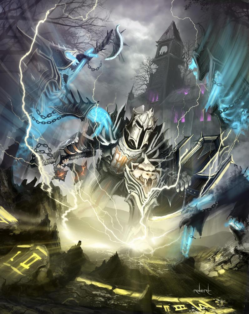Diablo 3 - Falling Sword by d1eselx