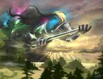Chromatic God (MTG fan art)