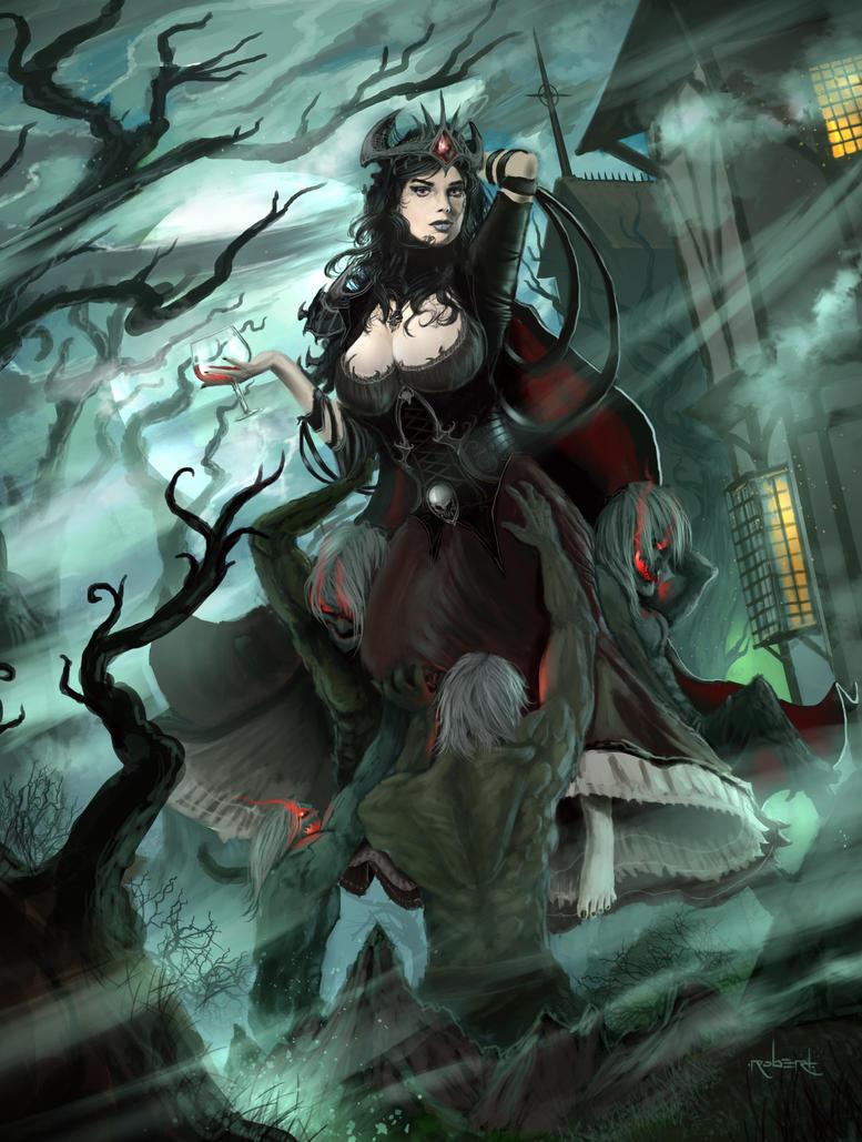 Vampire-Mistress by d1eselx