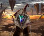 Mox Bismuth (MTG fan art)