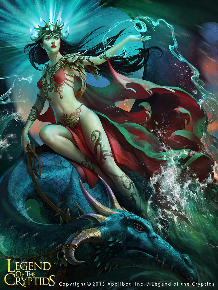 Water goddess adv by Toru-meow