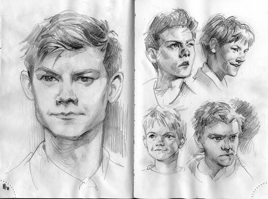 sketches by Toru-meow